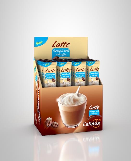 Cafelux Latte 17gr x 24