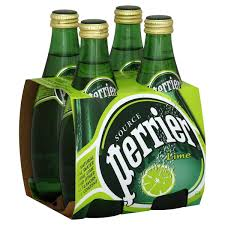 Perrier Sparkling Natural Mineral Water 330ml