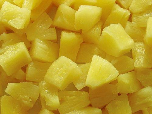 Canned imported pineapple