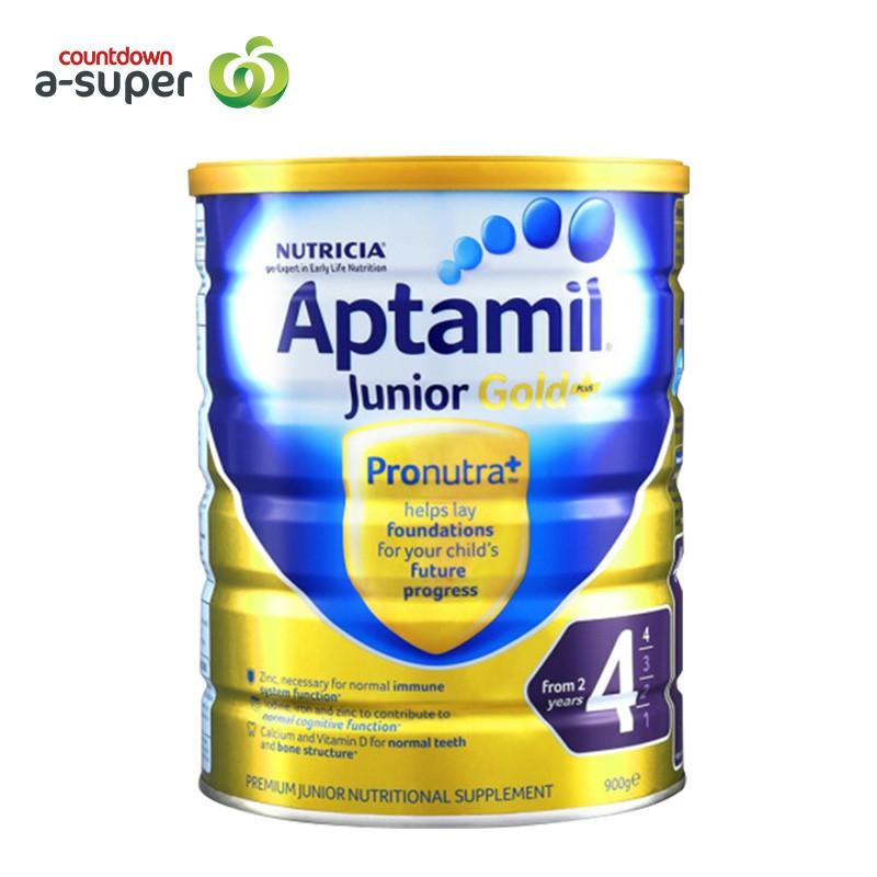 Aptamil loves his 4 pack 900g/ cans of infant formula milk powder.
