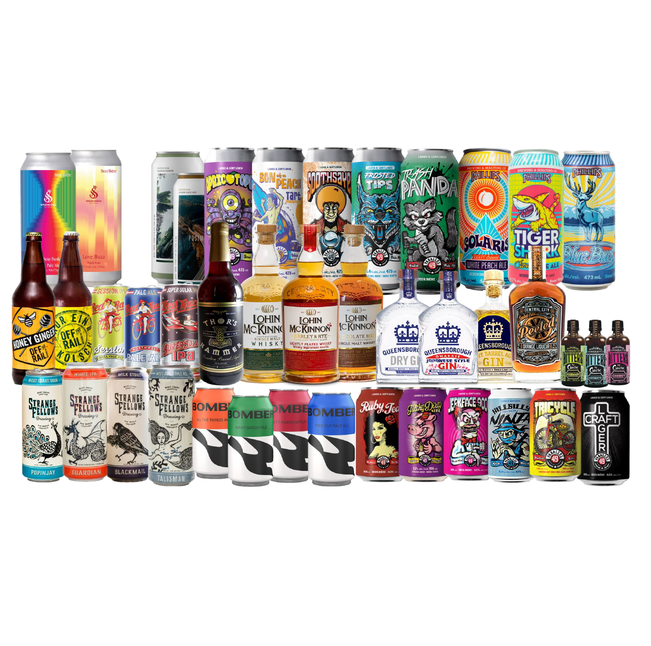 Pac-RIM / Canadian Craft Beer, wine and spirits