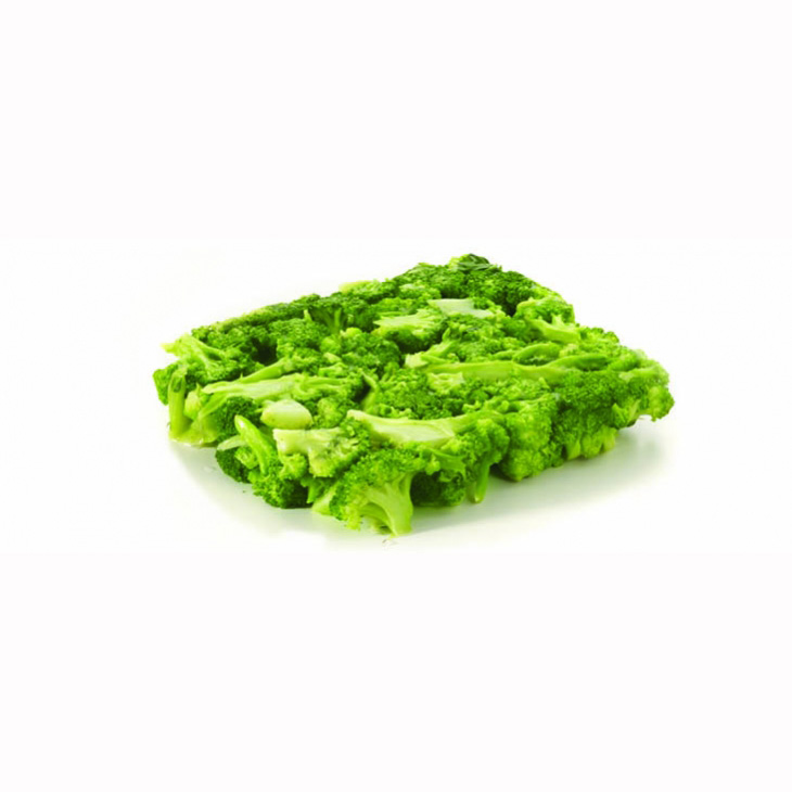 Broccoli - block frozen/Broccoli crumb/Broccoli florets 15/30mm/Broccoli florets (40/60mm)/Broccoli puree