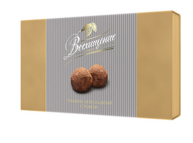 Voskhishchenie Chocolate truffles candies with rum wholesale prices
