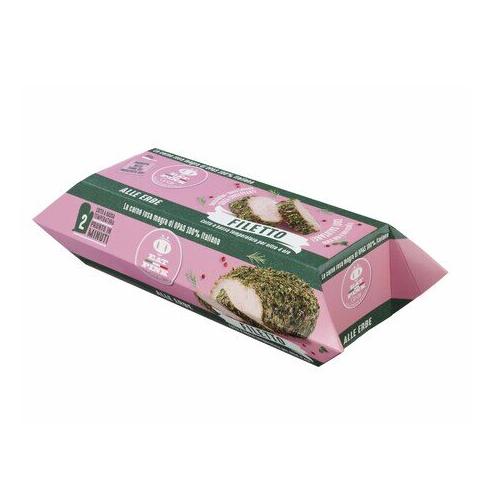 Italy EAT PINK Italian Tenderloin with Herbs pork meat