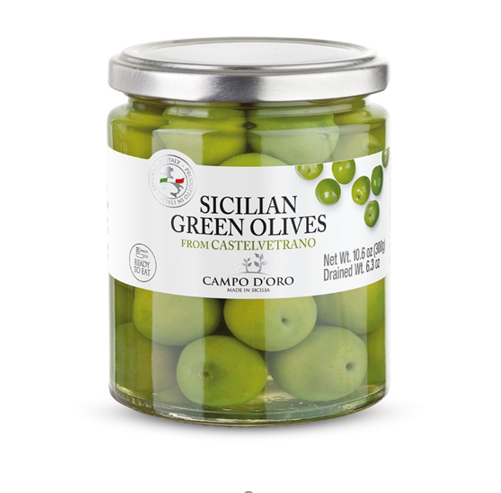 Sicilian Green Olives, Italy Fresh Olive