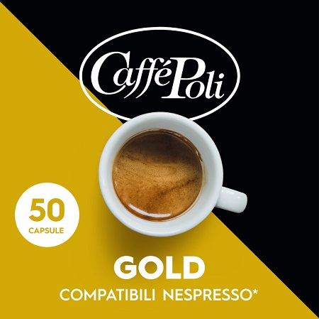 Italy Coffee GOLD 50 Capsules