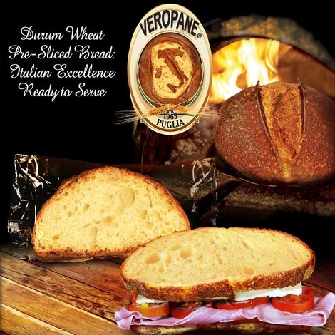 FROZEN SLICED BREAD WITH DURUM WHEAT SEMOLINA 50Gx4 BAKERY&CEREAL/BAKED ITALY OROPAN S.p.A.