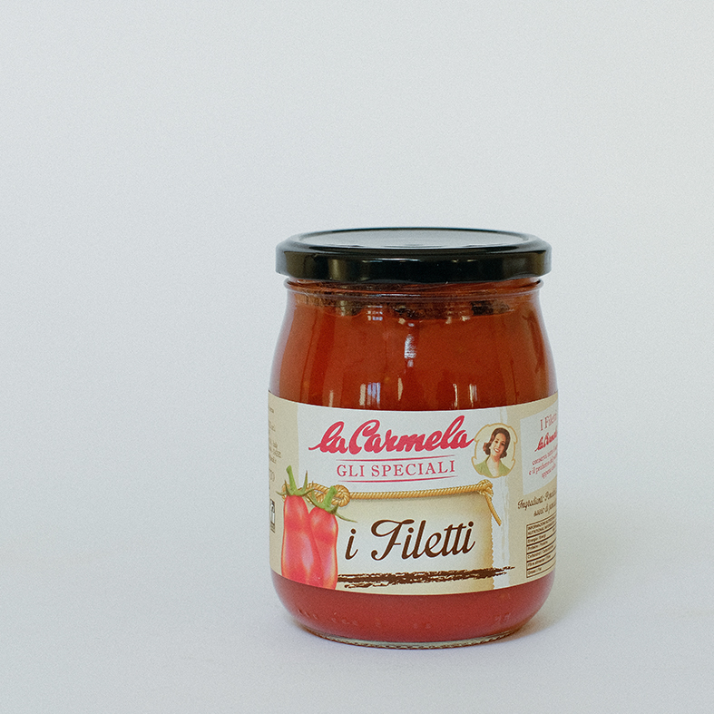 Whole Tomatoes fillets and tomatoes juice, tomatoes sauce, condiment, Italy FRATELLI D'ACUNZI SRL