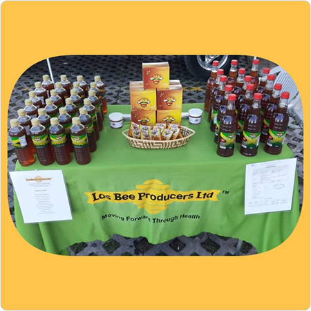 Las-Bee Producers Nature's Golden Honey