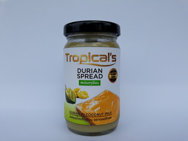 Wholesales Price Sweet with Coconut Milk Paste Jam Durian