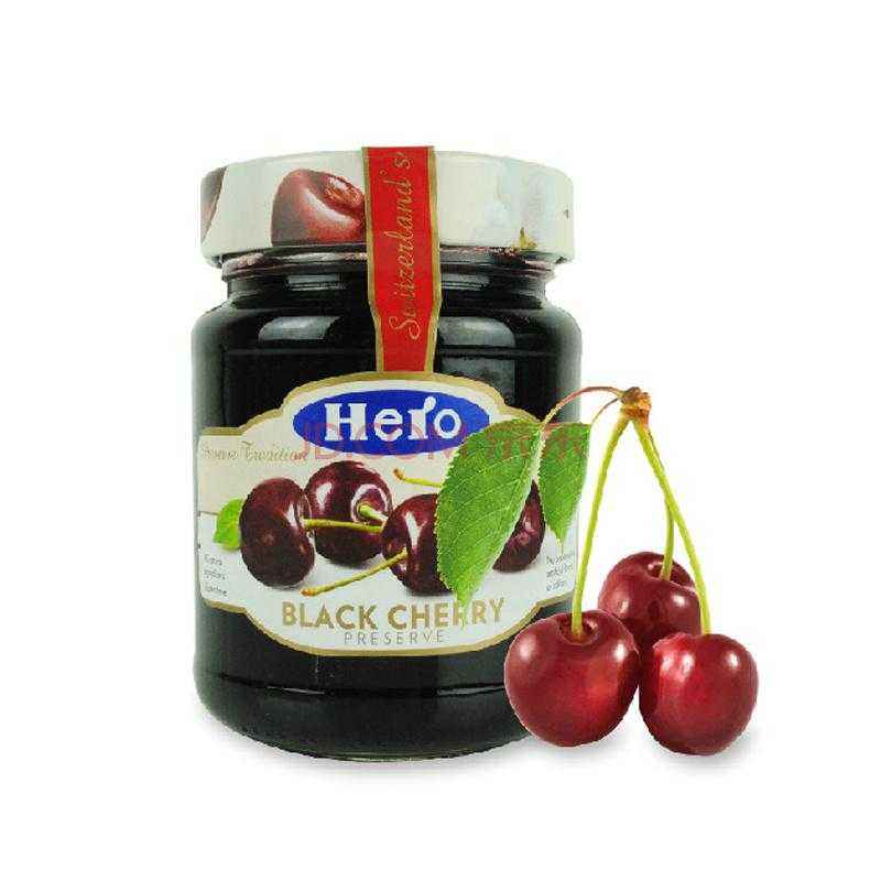 Offer black cherry sauce