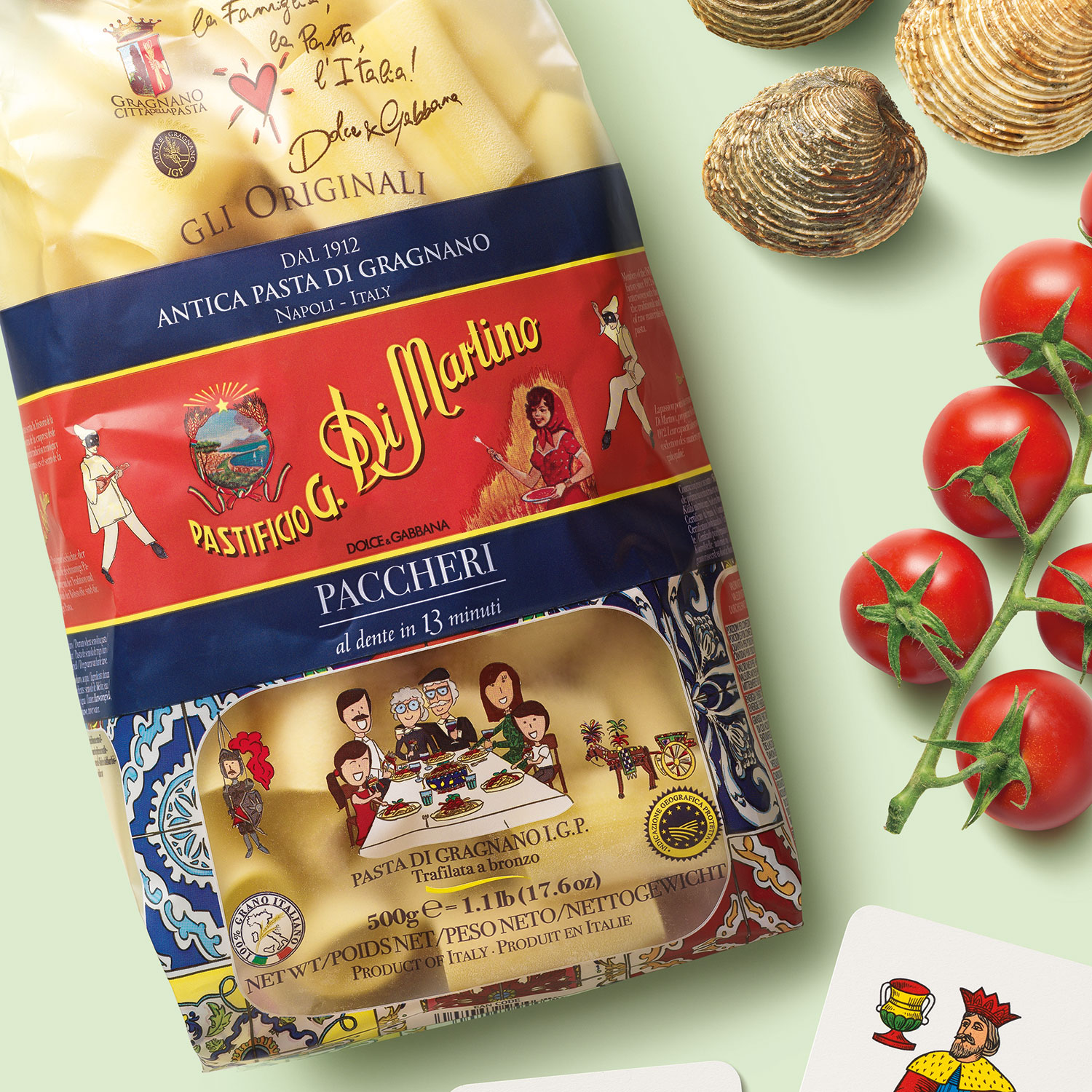 Italian pasta DI MARTINO 500gr durum wheat pasta