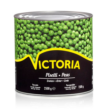 Peas Victoria Tin 2500g Canned Food