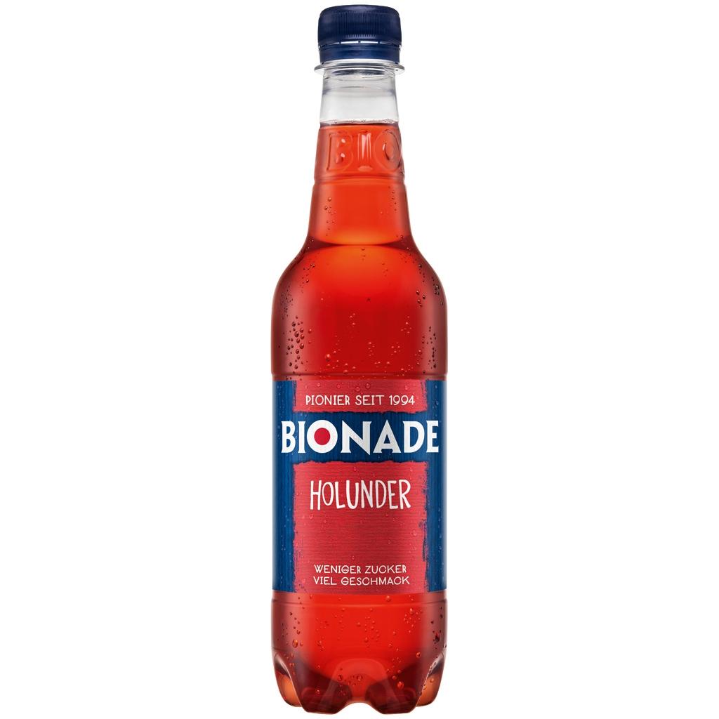 Bionade organic non-alcoholic refreshment drinks