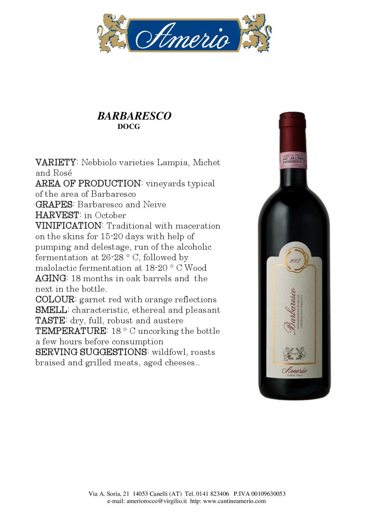 Italian Wines