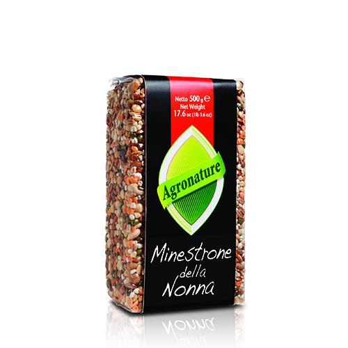 Agronature - Minestrone della Nonna beans lentils for cooking soups and broths  from Italy