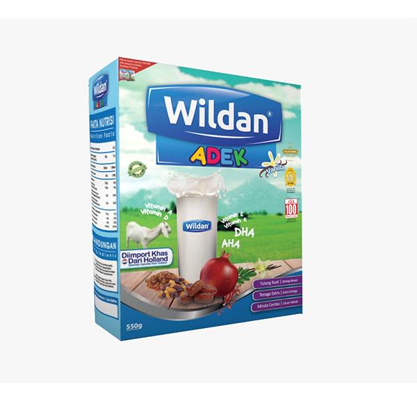 Milk Vanilla Powder Wildan Niaga ADEK Dry Goat Milk