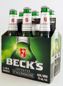 Becks Beer 33cl cheapest offer