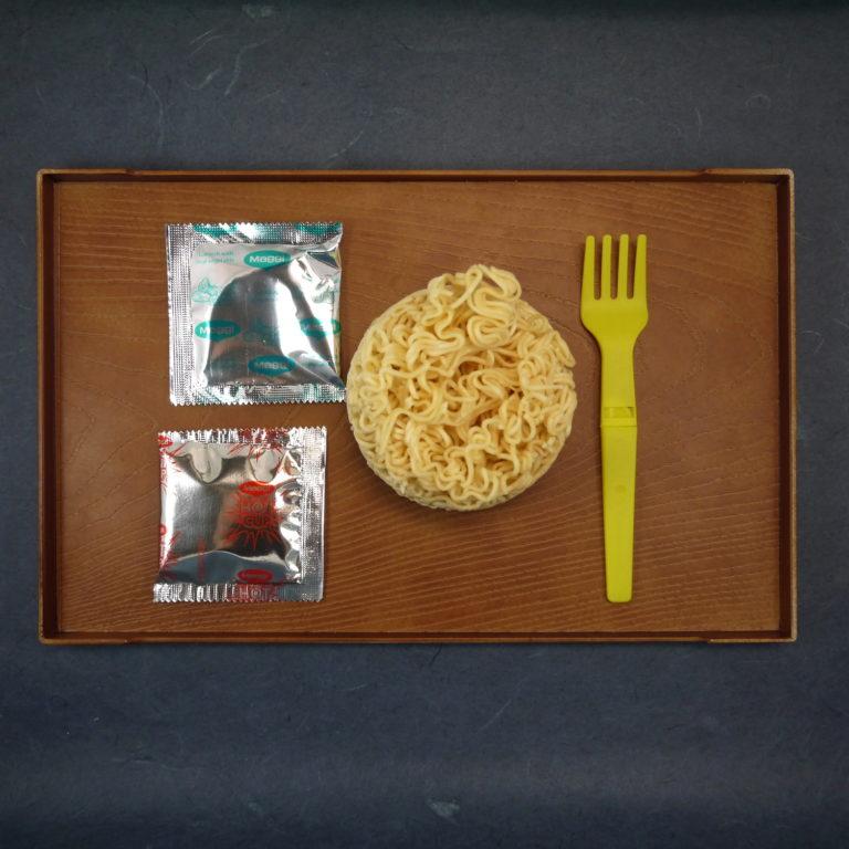 Maggi Hot Cup Instant Noodle Curry Kick Flavor Soup