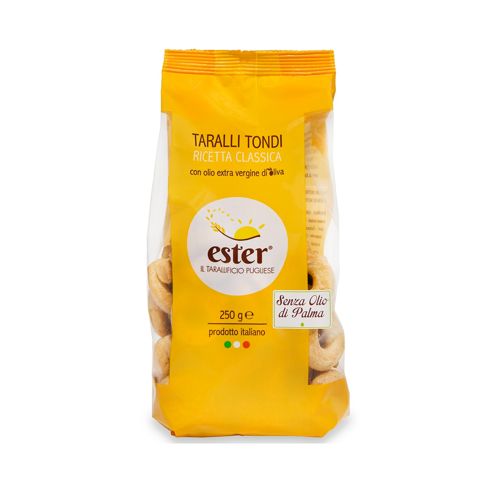 Ester Plain Taralli Tondi Baked Product Italy wheat,salted snack,biscuit