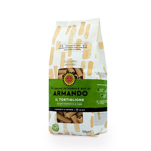 Armando Tortiglione Integrale Bio Spiral Dried Pasta