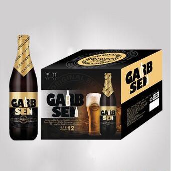 490mlx12 GARBSEN beer