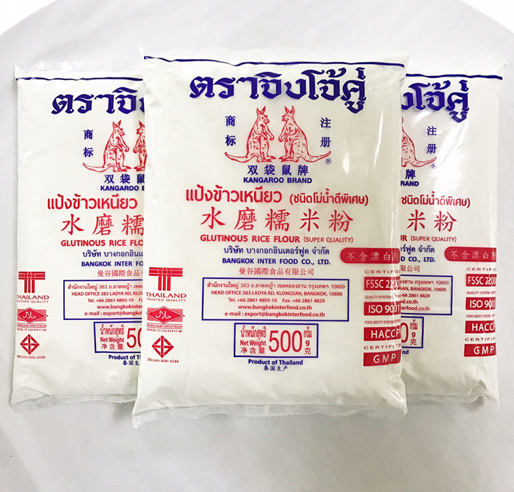 Thailand double kangaroo brand water polished glutinous rice noodles