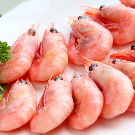 Buy a large number of Canadian Arctic sweet shrimp, frozen fresh sweet shrimp, imported sweet shrimp.