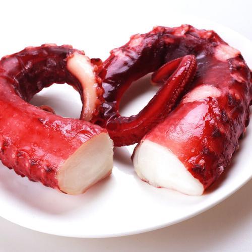 Sushi Big Octopus Chlorella Vulgaris Cooked Frozen Fresh Seafood