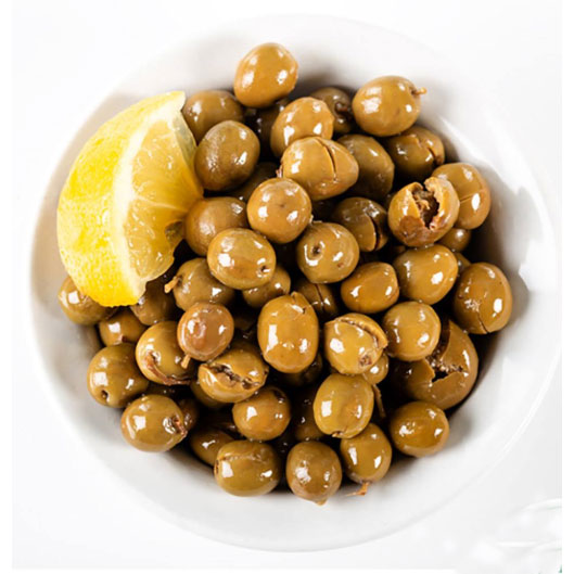 Supply Algerian  Olive Vert Beldi Cassé Lemon Olives