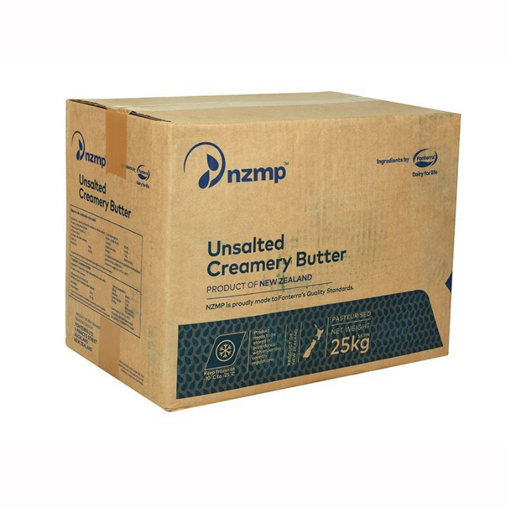 Buy New Zealand imported Fonterra butter 25kg