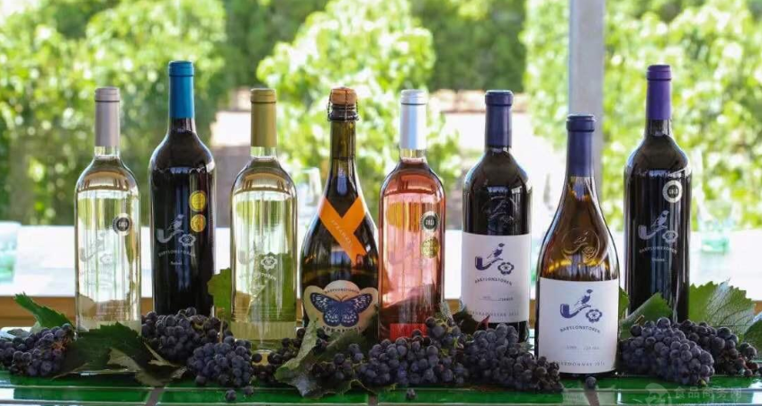 Wholesale of imported red wine from South Africa
