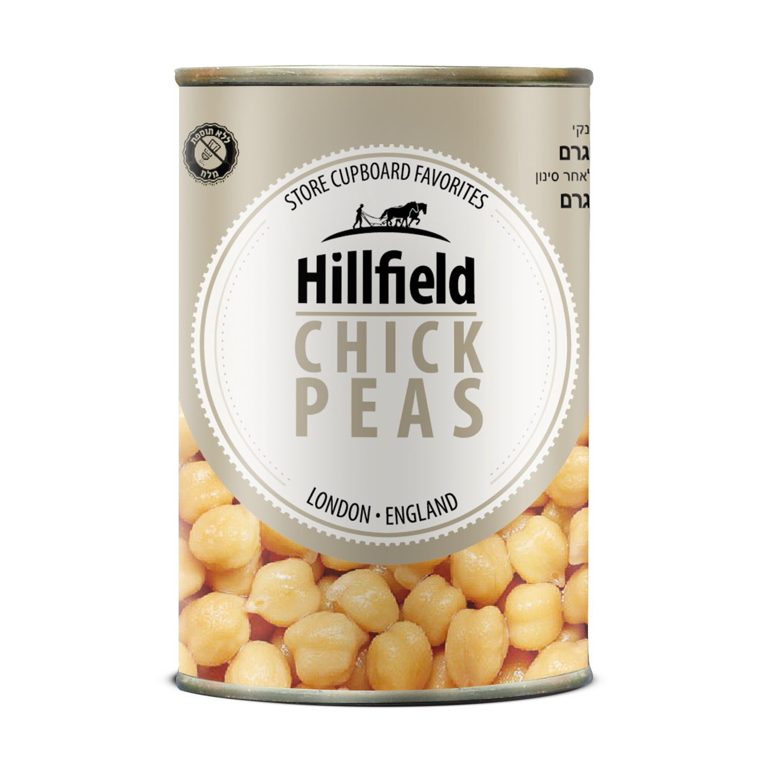 Hillfield Chickpeas - No Salt added, Italy, Legummes, Ready to eat, instant food, Coppola Foods