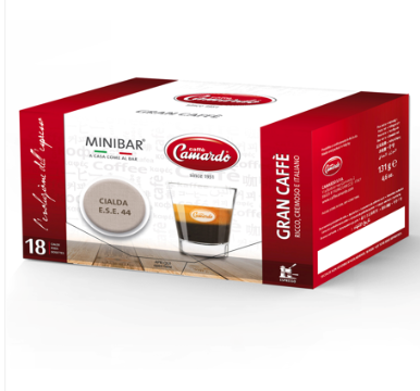 GRAN CAFFE' ITALY Coffee Pods, ground coffee