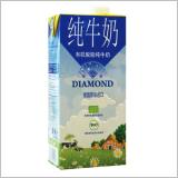 German diamond organic defatted milk at ambient temperature