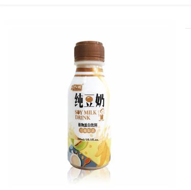 Taiwan 300ml soft drink plastic bottle soy milk