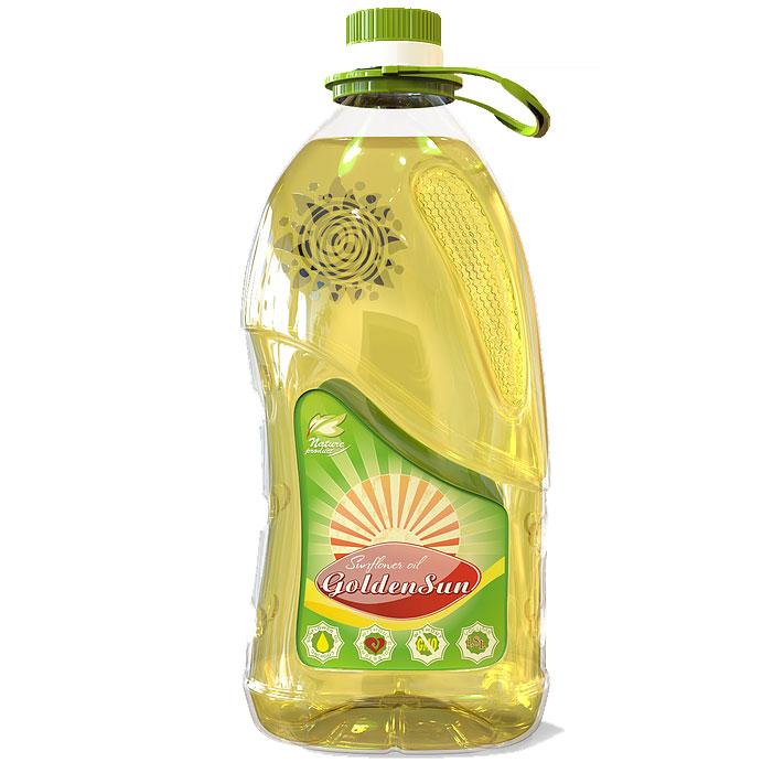 Offer Ukraine GoldenSun Sunflower Oil 1L