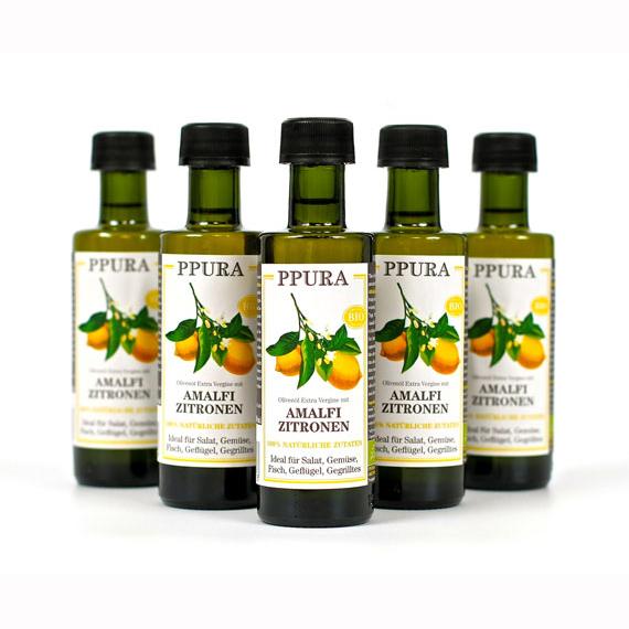 Oliveoil with Amalfi lemons organic/chilli from Calabria organic/fresh basil organic/fresh red onions organic