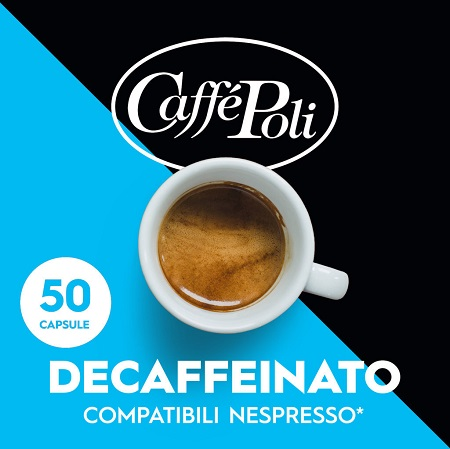 DECAFFEINATED 50 Capsules Italy Coffee