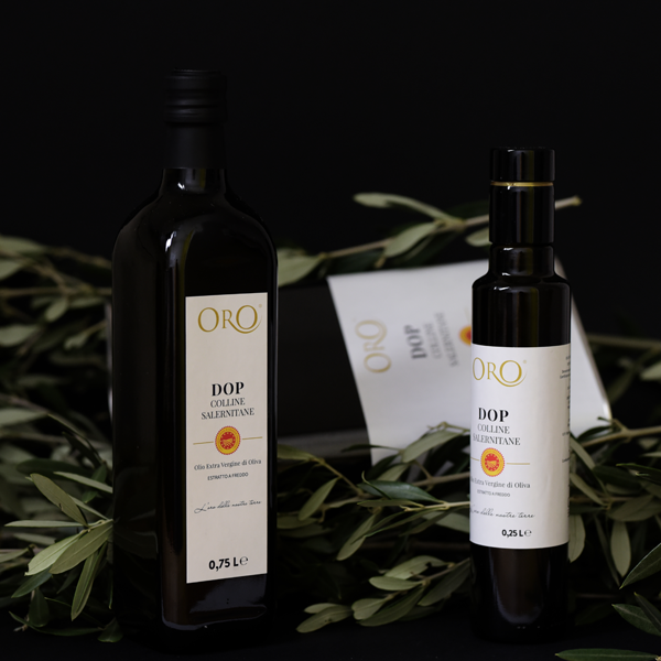 Italian Extra Virgin Olive Oil Italy ORO DOP  Colline Salernitane condiments