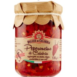 Peperoncino di Calabria tritato in olio d'oliva / HOT PEPPER SAUCE