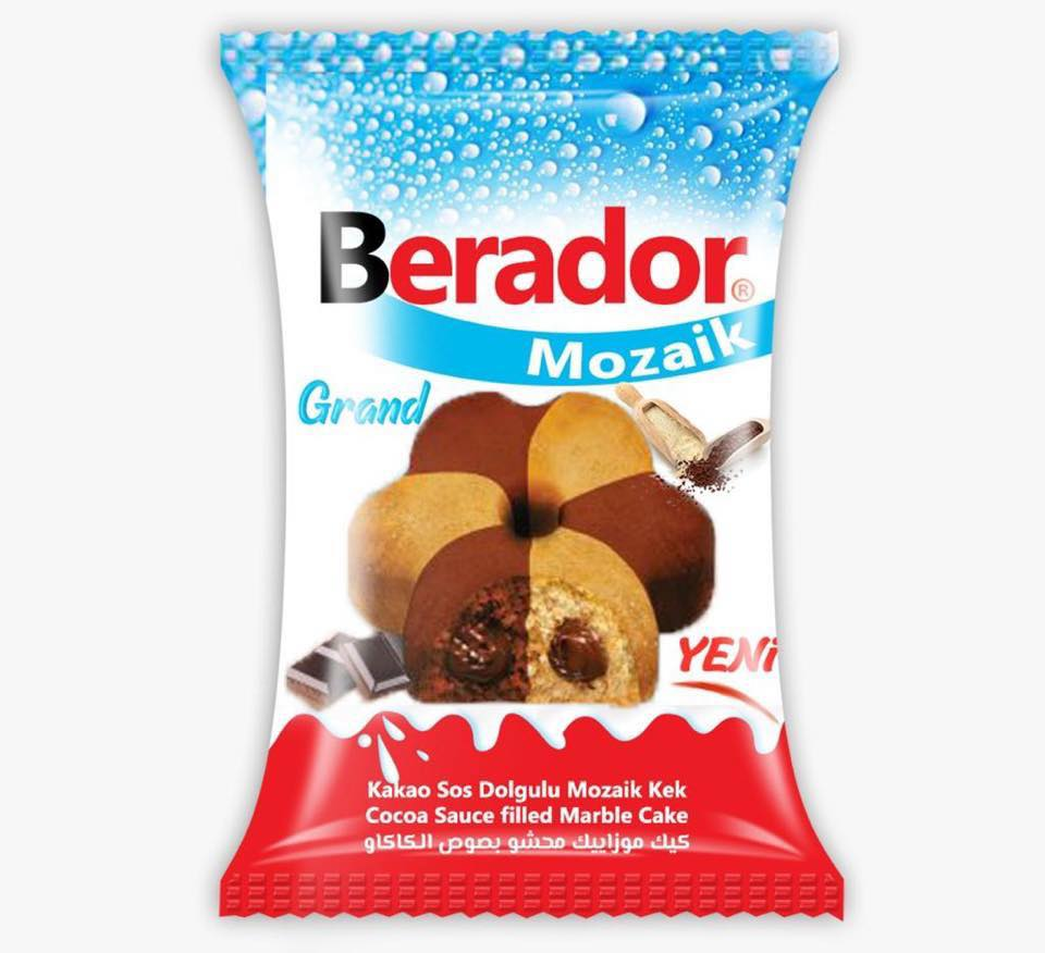 Sell Turkey Berador Coco Sacue Filled Marble Cake Confectionery