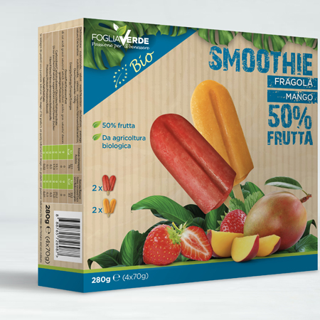 smoothie organic strawberry italy  Leisure food, ice cream, ice lolly