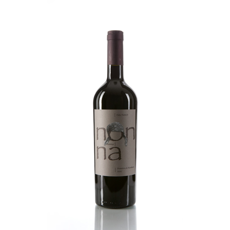 NONNA - Primitivo Of Manduria DOCG Natural Sweet Vol.16% (Red Wine) , Cantina Bosco, 100% Italy