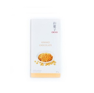 80 g Chocolate with Kinako Soybeans Japanese sweets