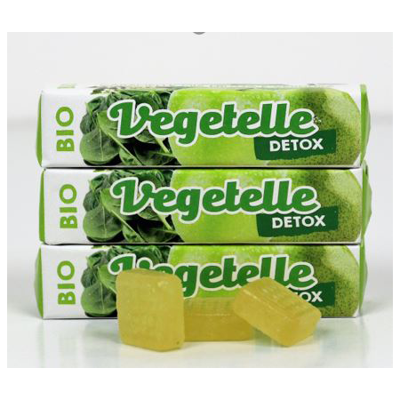GOOD4YOU VEGETELLE candies with fruit and vegetable, Organic Candy, Italy snack/ dessert/Confectionary/ KONTAK SAS