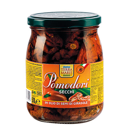 Sun Dried Tomatoes in sunflower oil 580g