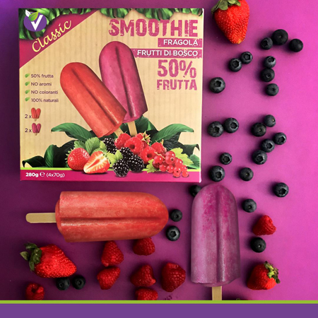 smoothie classic: wild berries italy Leisure food, ice cream, ice lolly