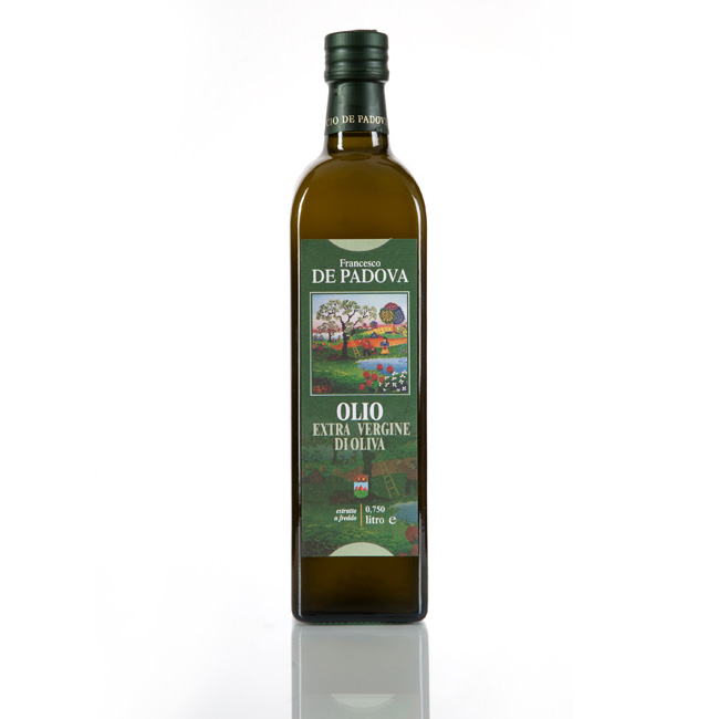 EXTRA VIRGIN OLIVE OIL cold extraction - Francesco De Padova, Cantina Bosco, 100% Italy, condiments