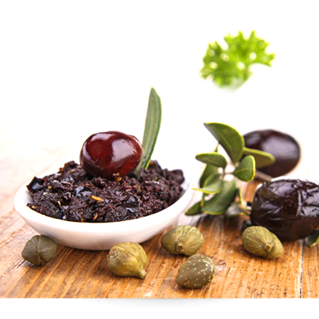 Organic Black Olives Paste Black Olive Glass Jar Sauce 90g